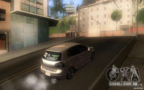 Volkswagen Golf MK5 para GTA San Andreas vista direita
