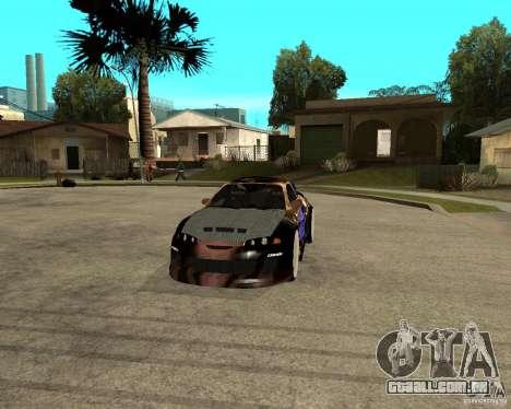 Mitsubishi Eclipse RZ 1998 para GTA San Andreas vista traseira