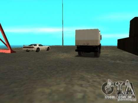 Renovação da base militar nas docas para GTA San Andreas nono tela