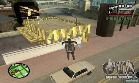 Loja de armas em Grove para GTA San Andreas