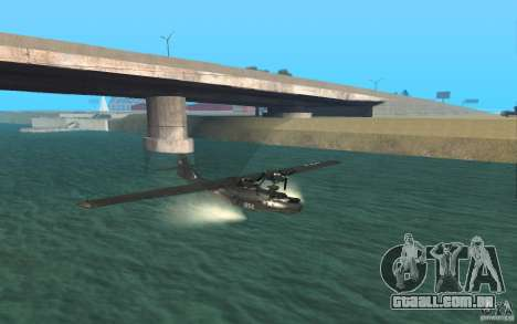PBY Catalina para GTA San Andreas esquerda vista