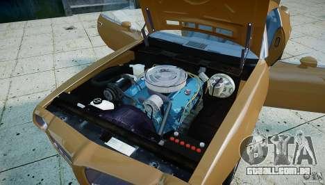 Pontiac Firebird 1970 para GTA 4 vista de volta