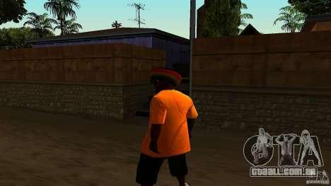 Jamaican Guy para GTA San Andreas terceira tela