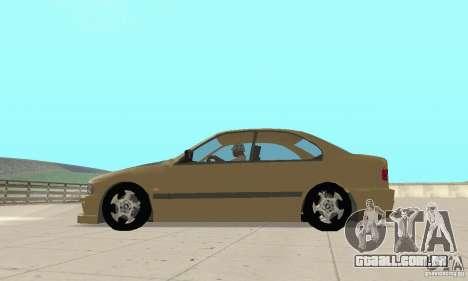 Bmw 528i para GTA San Andreas esquerda vista