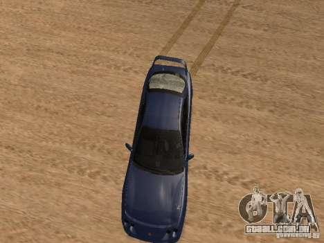 Acura RSX Light Tuning para GTA San Andreas vista interior