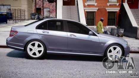 Mercedes-Benz C180 CGi Classic Special 2009 para GTA 4 vista interior
