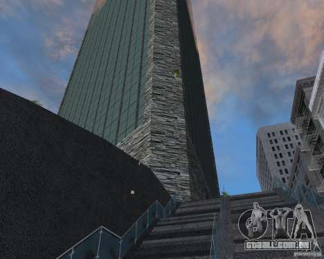 Nova textura de arranha-céu para GTA San Andreas segunda tela
