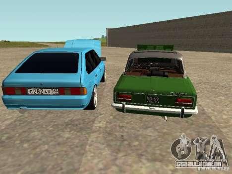 Moskvich 2141 para o motor de GTA San Andreas