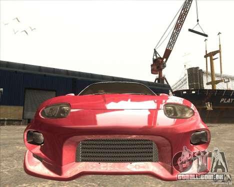 Mitsubishi FTO VeilSide para GTA San Andreas esquerda vista
