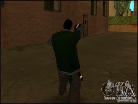 Arma na mão para GTA San Andreas