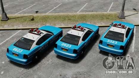 Bravado Buffalo ELS para GTA 4 vista de volta