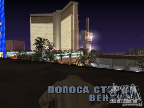 corda para GTA San Andreas por diante tela