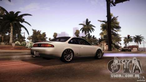 Nissan Silvia S14 Zenk para GTA San Andreas vista direita
