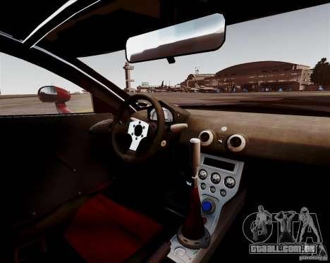 Ascari A10 2007 v2.0 para GTA 4 vista interior
