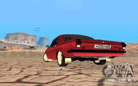 Volga GAZ 24 para GTA San Andreas vista direita