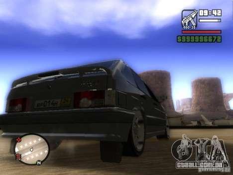 ВАЗ 2114 Tuning para GTA San Andreas traseira esquerda vista
