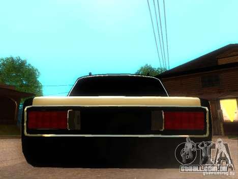 Estilo de dag VAZ 2106 para GTA San Andreas traseira esquerda vista
