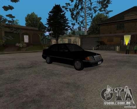 Mercedes-Benz C220 W202 1996 para GTA San Andreas esquerda vista