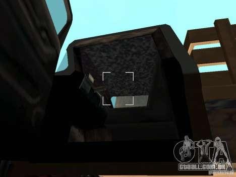 Walton Monster para GTA San Andreas vista interior