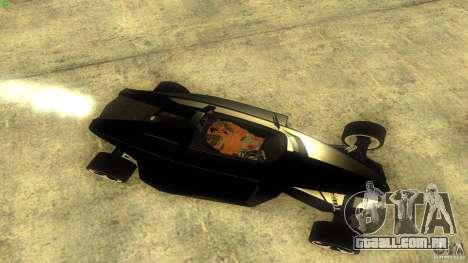 Lamborghini Concept para GTA San Andreas traseira esquerda vista