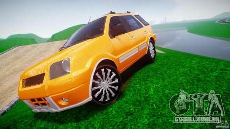 Ford EcoSport para GTA 4 traseira esquerda vista