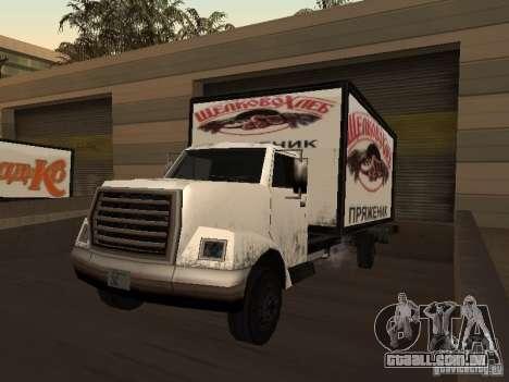 Yankee RUS para GTA San Andreas esquerda vista