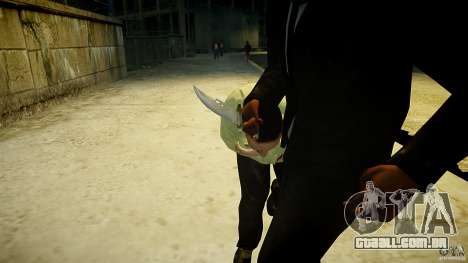 B.A.K. Knife para GTA 4 terceira tela