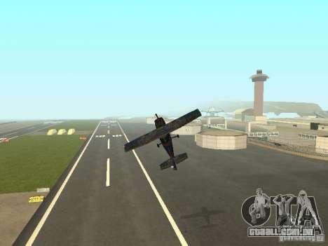 Um novo avião-Dodo para GTA San Andreas vista inferior