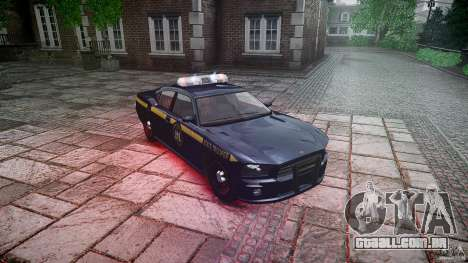 New York State Police Buffalo para GTA 4 vista de volta