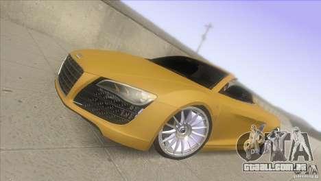 Audi R8 5.2 FSI Spider para GTA San Andreas
