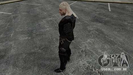 Geralt de Rivia v7 para GTA 4