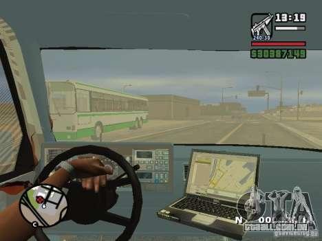 GMC Sierra Tow Truck para GTA San Andreas vista superior