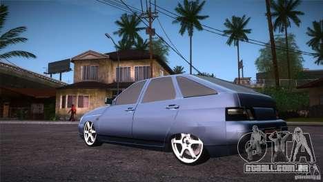 VAZ-2112 LT para GTA San Andreas traseira esquerda vista