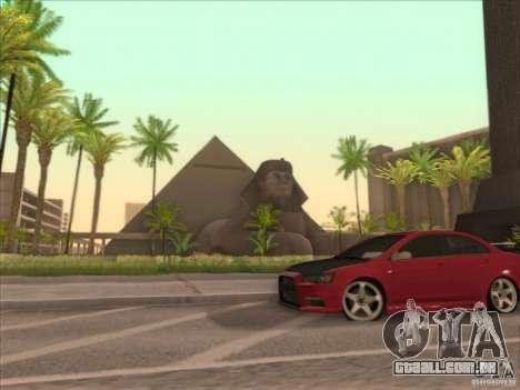 SGR ENB Settings para GTA San Andreas sexta tela