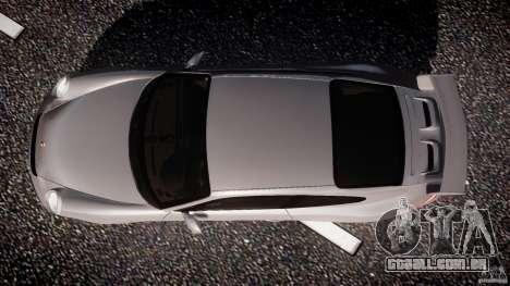 Porsche GT3 997 para GTA 4 vista lateral