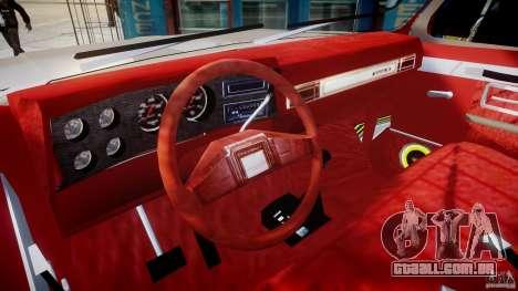 Chevrolet Silverado 1977 para GTA 4 vista direita