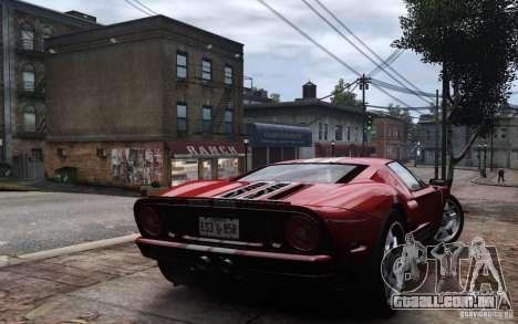 Ford GT 2005 para GTA 4 esquerda vista