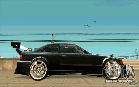 NFS:MW Wheel Pack para GTA San Andreas segunda tela