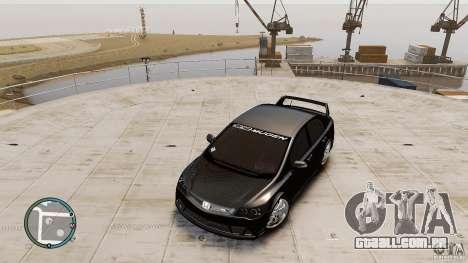 Honda Civic Mugen RR para GTA 4 vista direita