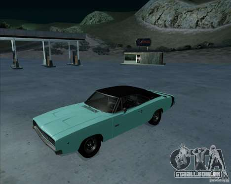 Dodge Charger RT HEMI 1968 para GTA San Andreas