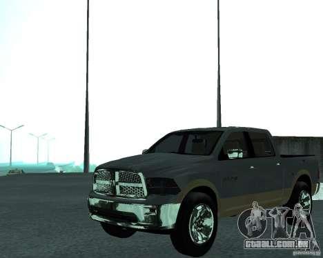 Dodge Ram Hemi para GTA San Andreas vista direita