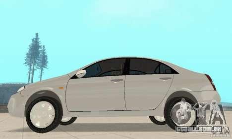 Nissan Primera para GTA San Andreas traseira esquerda vista