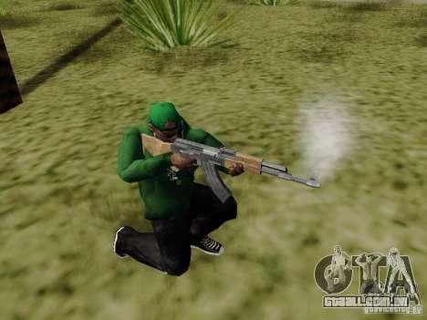 AK-47 de Saints Row 2 para GTA San Andreas terceira tela