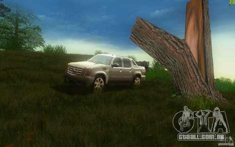 Cadillac Escalade EXT para GTA San Andreas esquerda vista
