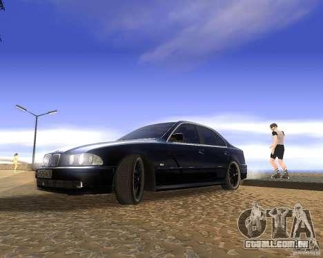BMW 525i e39 para GTA San Andreas