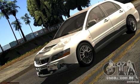 ENBSeries RCM para o PC fraco para GTA San Andreas quinto tela