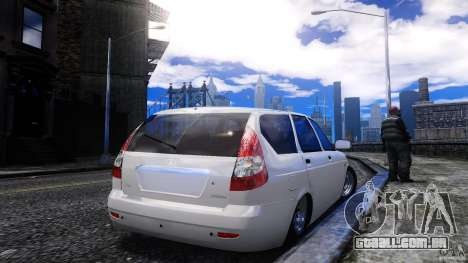 VAZ-2171 Touring para GTA 4 traseira esquerda vista