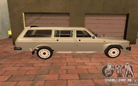 31022 Gás Touring para GTA San Andreas traseira esquerda vista