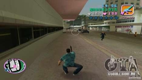 Fotografar com uma mão para GTA Vice City terceira tela