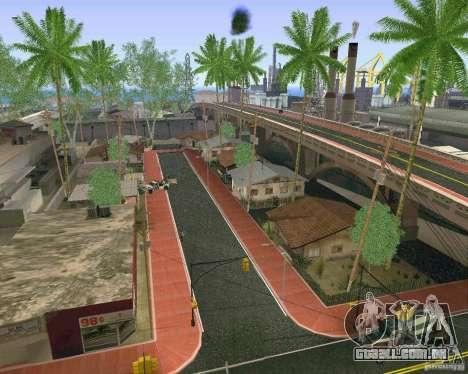 Novas texturas de Los Santos para GTA San Andreas quinto tela